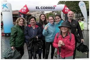 Fotos de la salida desde El Arenal